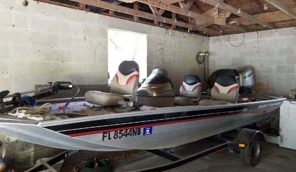 Junk a boat St Petersburg FL