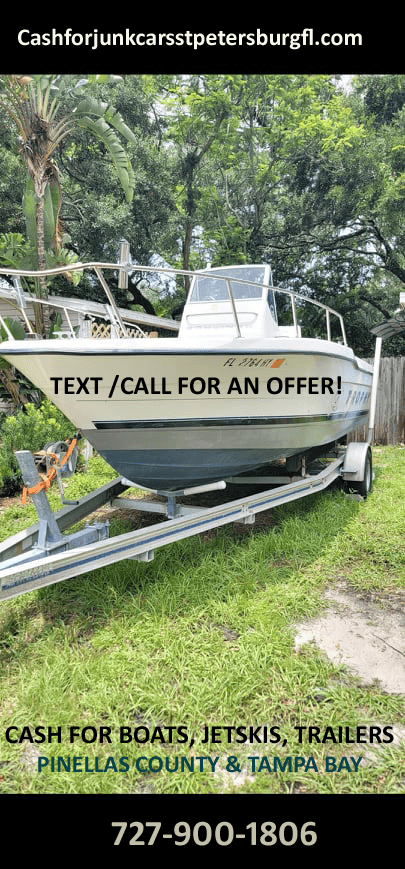 CASH FOR BOATS, Pinellas County
